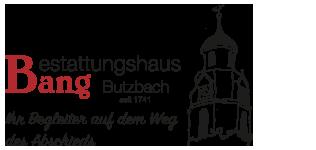 Bestattungshaus Bang Logo